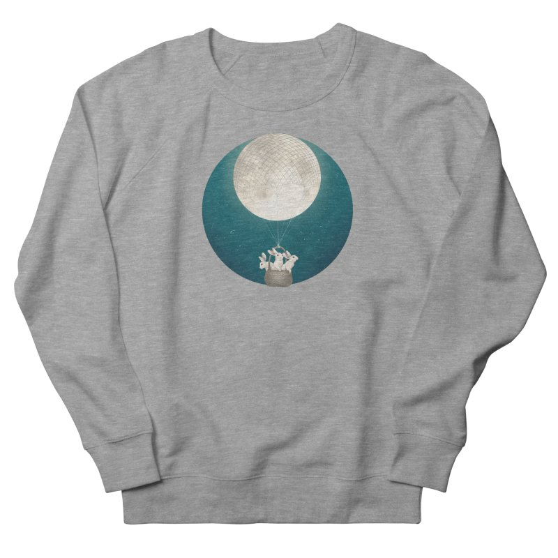 Moon Bunnies Women's Sweatshirt by lauragraves's Artist Shop