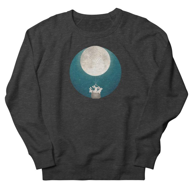 Moon Bunnies Men's Sweatshirt by lauragraves's Artist Shop