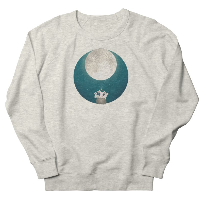 Moon Bunnies Men's Sweatshirt by lauragraves's Artist Shop