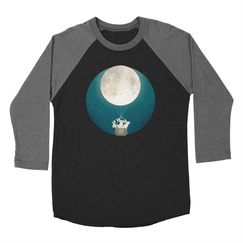 Moon Bunnies Women's Baseball Triblend T-Shirt by lauragraves's Artist Shop