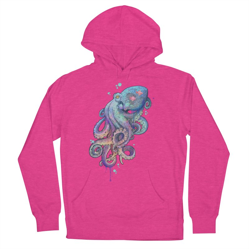 Octopus Women's Pullover Hoody by lauragraves's Artist Shop
