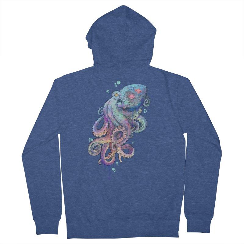 Octopus Men's Zip-Up Hoody by lauragraves's Artist Shop
