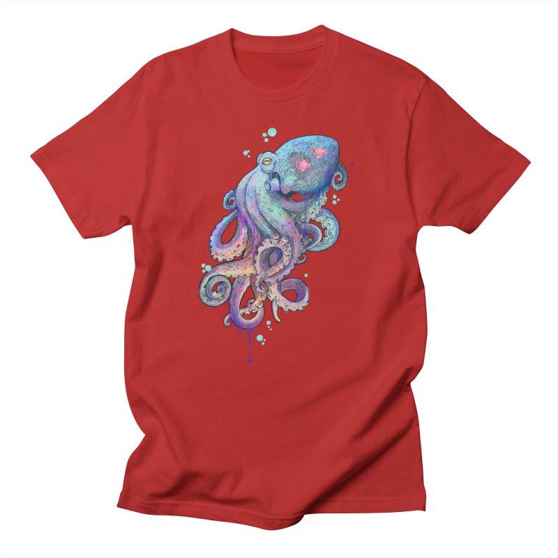 Octopus Men's T-shirt by lauragraves's Artist Shop