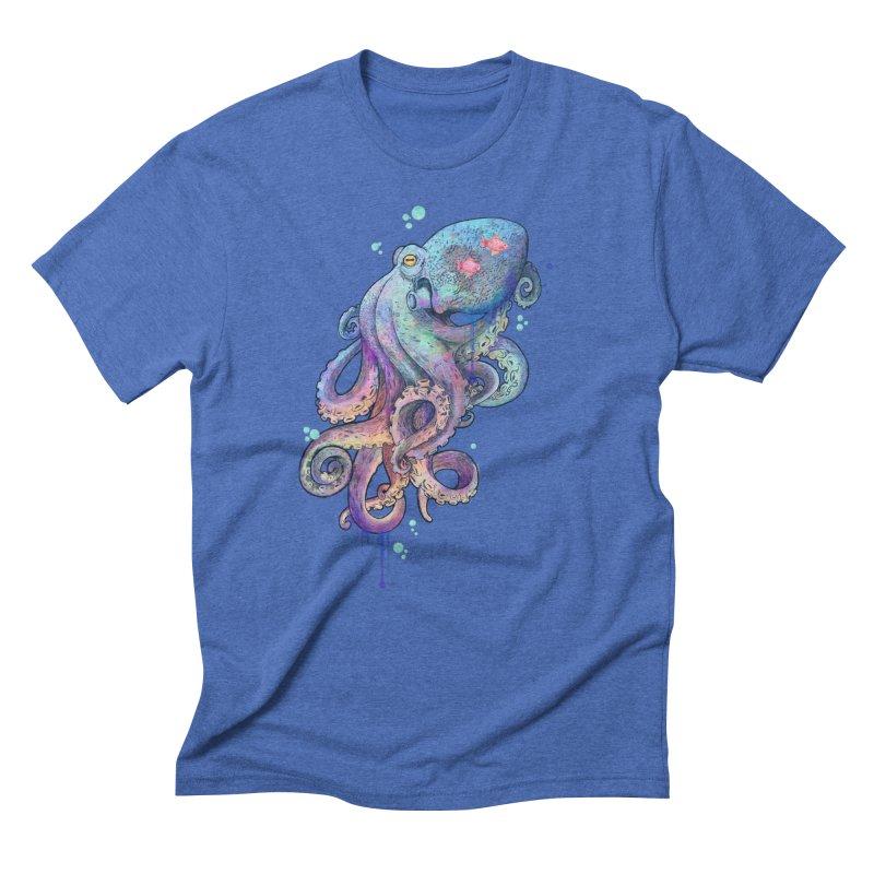 Octopus Men's Triblend T-Shirt by lauragraves's Artist Shop