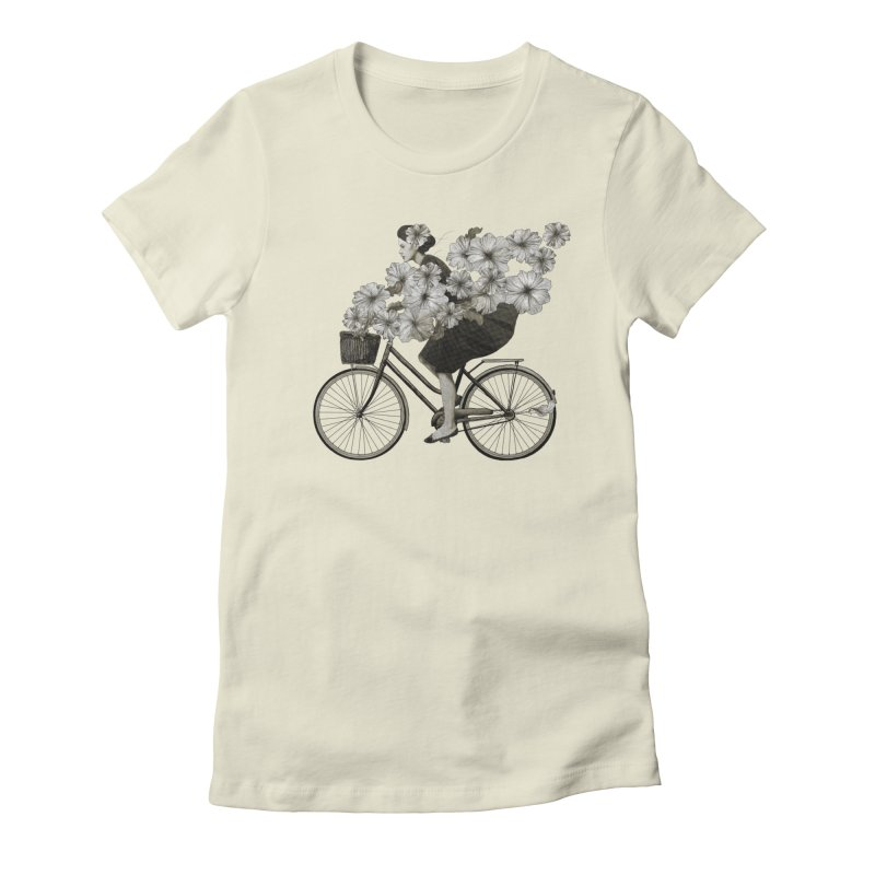 Ride Women's Fitted T-Shirt by lauragraves's Artist Shop