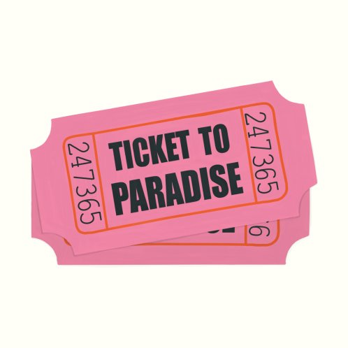 Design for Two Tickets To Paradise