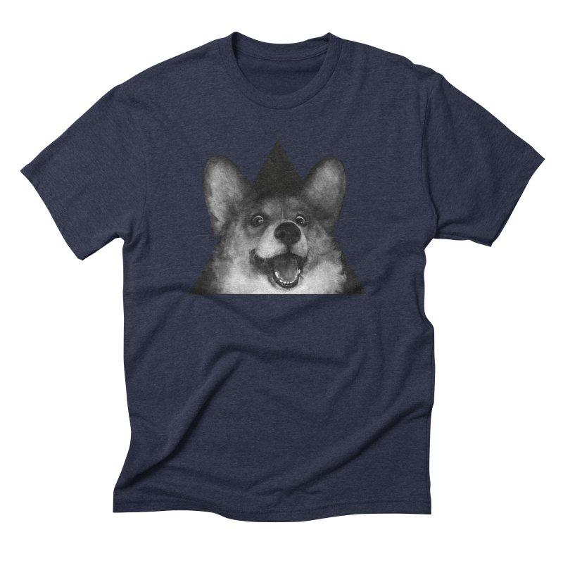 sausage fox Men's Triblend T-shirt by lauragraves's Artist Shop