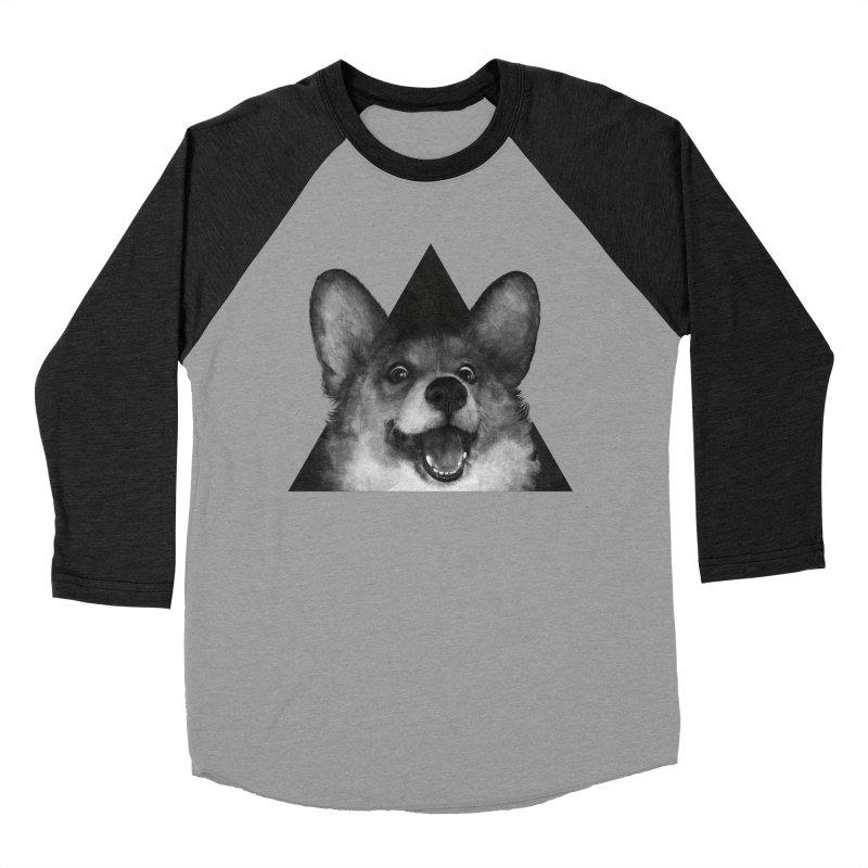 sausage fox Women's Baseball Triblend T-Shirt by lauragraves's Artist Shop