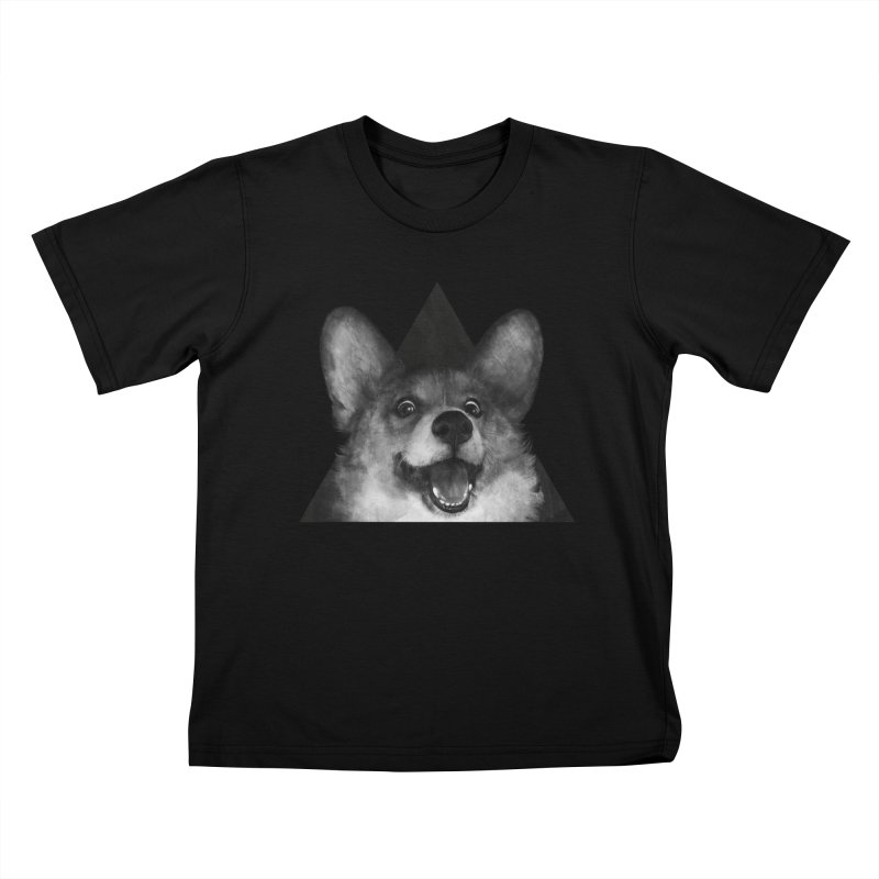sausage fox Kids T-shirt by lauragraves's Artist Shop