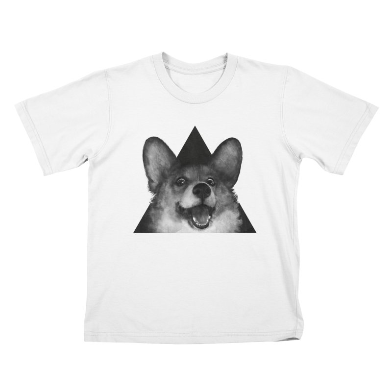 sausage fox Kids T-shirt by lauragraves's Artist Shop