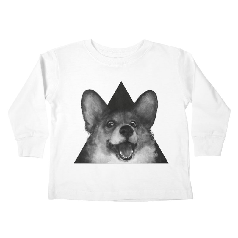 sausage fox Kids Toddler Longsleeve T-Shirt by lauragraves's Artist Shop