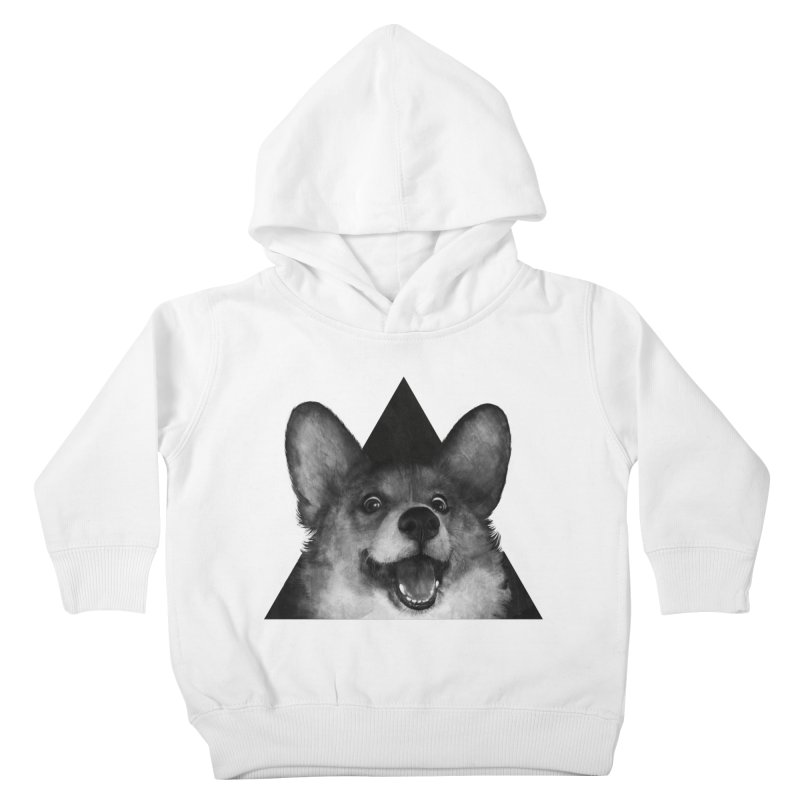sausage fox Kids Toddler Pullover Hoody by lauragraves's Artist Shop