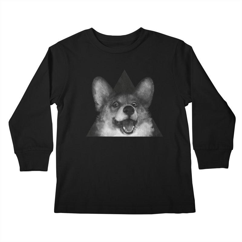 sausage fox Kids Longsleeve T-Shirt by lauragraves's Artist Shop