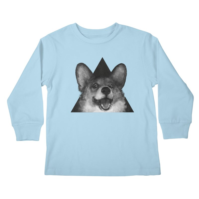 sausage fox Kids Longsleeve T-Shirt by lauragraves's Artist Shop