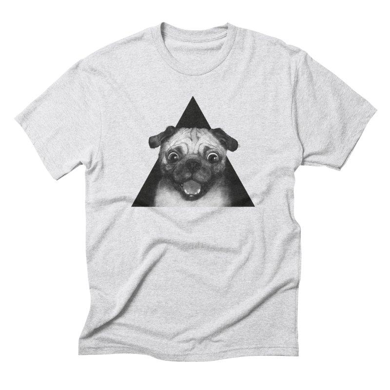 pug life Men's Triblend T-shirt by lauragraves's Artist Shop