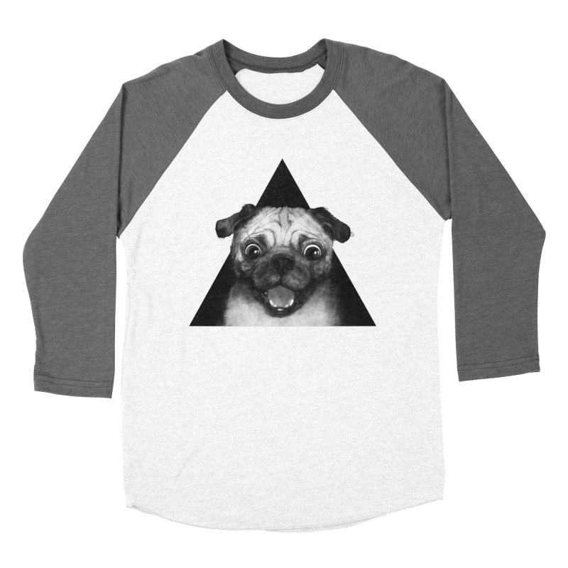 pug life Men's Baseball Triblend T-Shirt by lauragraves's Artist Shop
