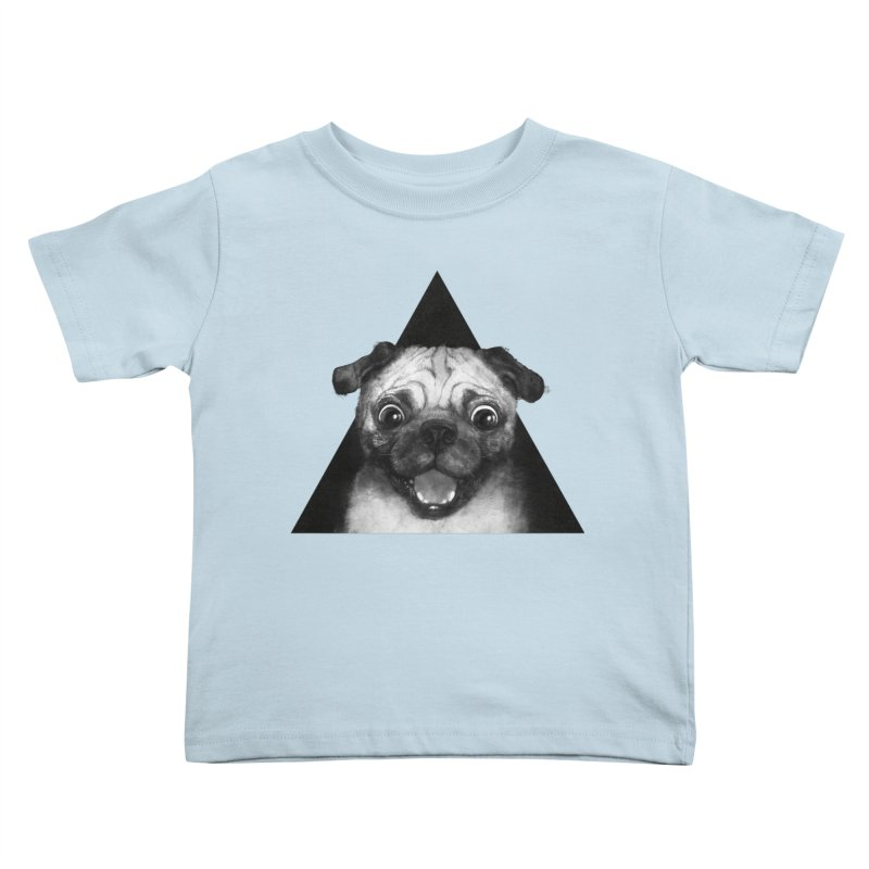 pug life Kids Toddler T-Shirt by lauragraves's Artist Shop