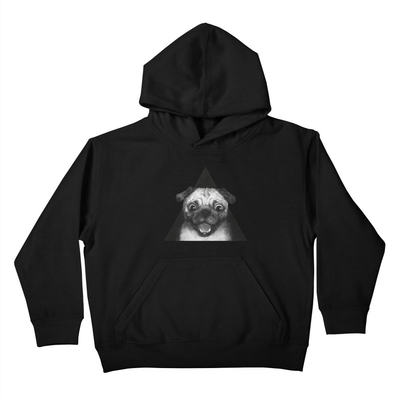 pug life Kids Pullover Hoody by lauragraves's Artist Shop