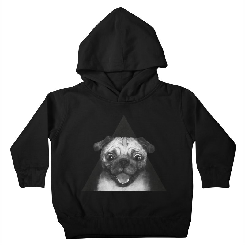 pug life Kids Toddler Pullover Hoody by lauragraves's Artist Shop