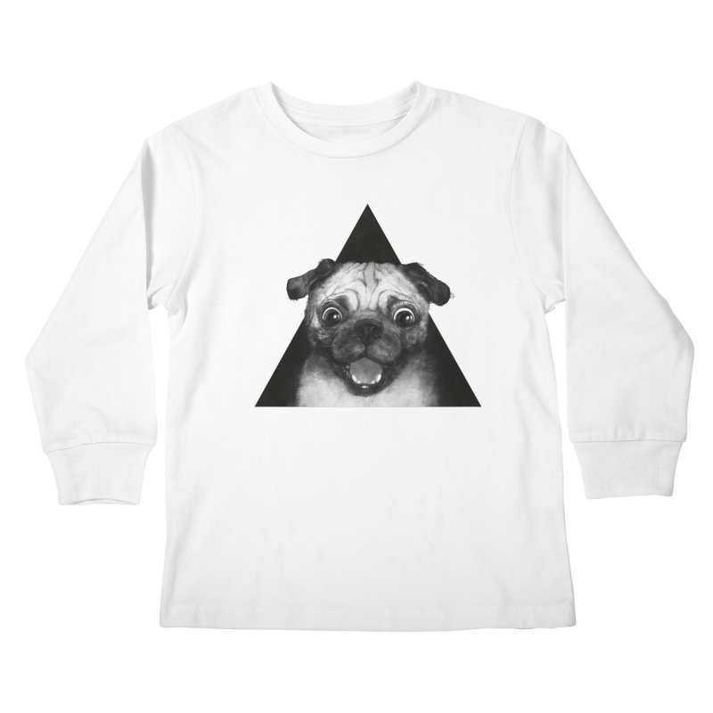 pug life Kids Longsleeve T-Shirt by lauragraves's Artist Shop