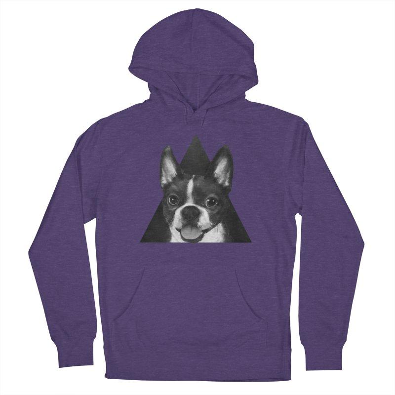 boston terrier Men's Pullover Hoody by lauragraves's Artist Shop