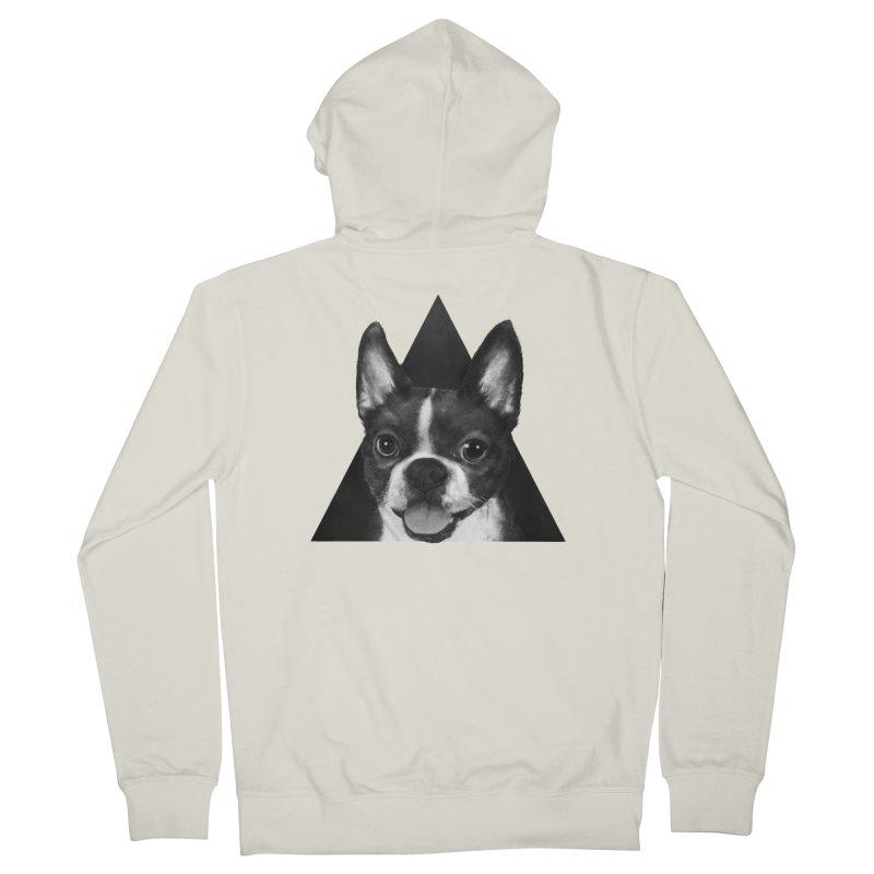 boston terrier Women's Zip-Up Hoody by lauragraves's Artist Shop