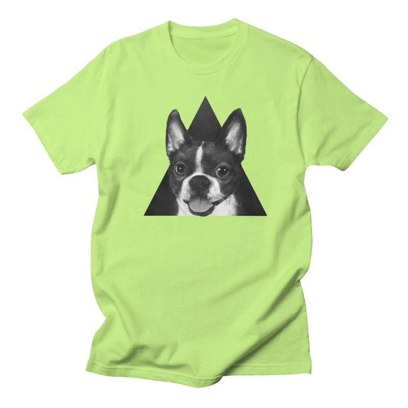 boston terrier Men's T-Shirt by lauragraves's Artist Shop