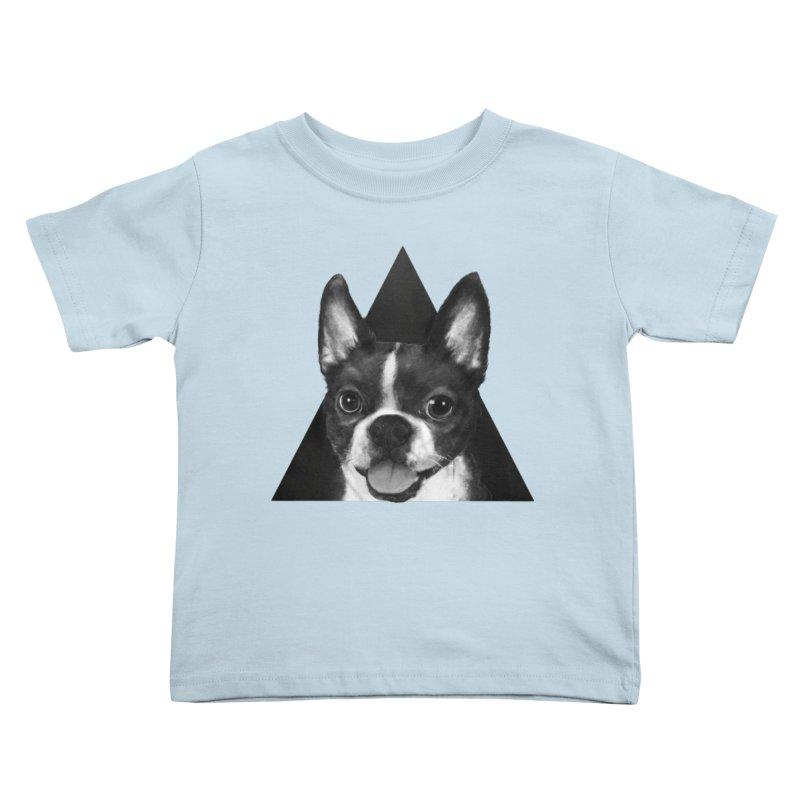 boston terrier Kids Toddler T-Shirt by lauragraves's Artist Shop