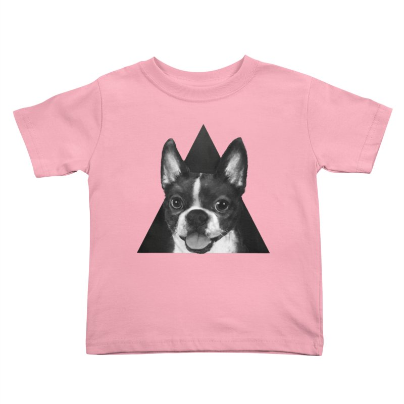 boston terrier Kids Toddler T-Shirt by lauragraves's Artist Shop
