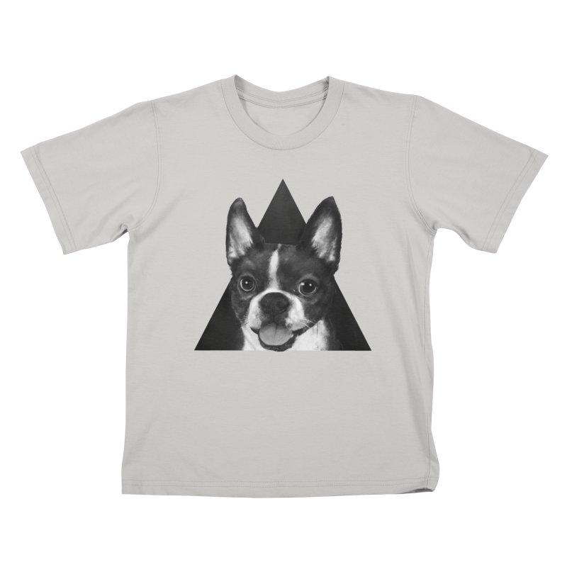 boston terrier Kids T-Shirt by lauragraves's Artist Shop