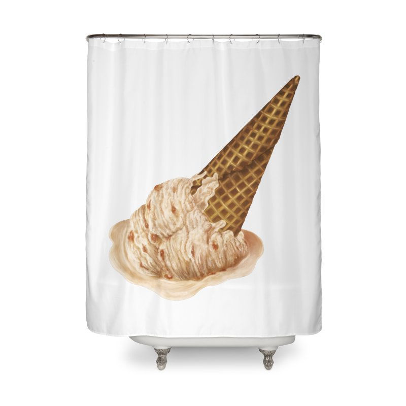 Summer Bummer Home Shower Curtain by Laura OConnor