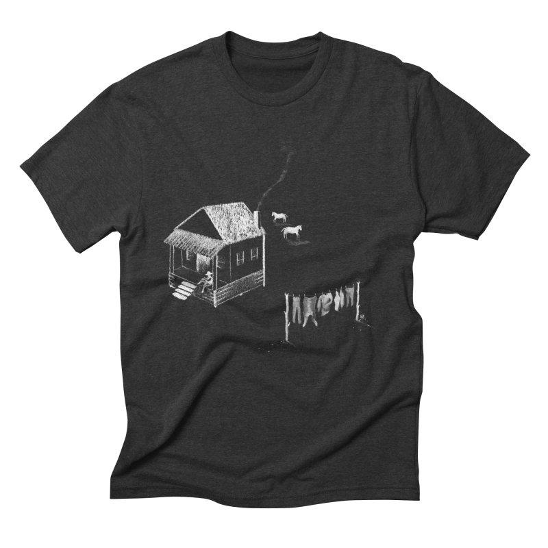 A Moment (White) Men's Triblend T-shirt by Laura OConnor's Artist Shop