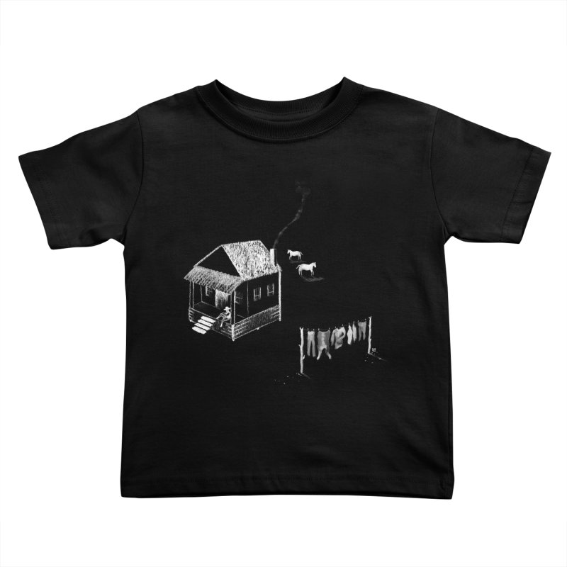 A Moment (White) Kids Toddler T-Shirt by Laura OConnor's Artist Shop