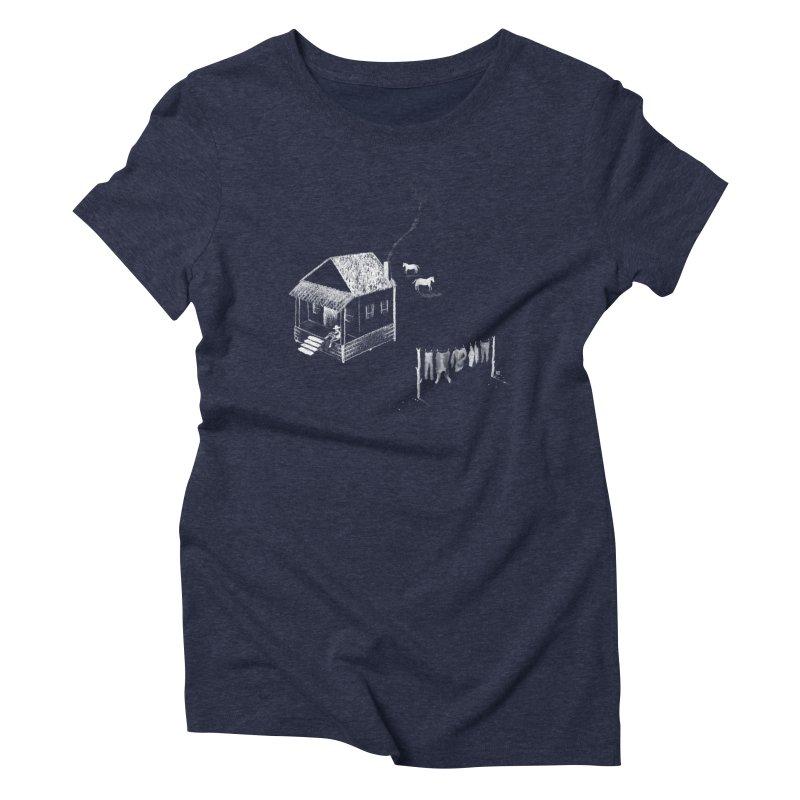 A Moment (White) Women's Triblend T-Shirt by Laura OConnor's Artist Shop