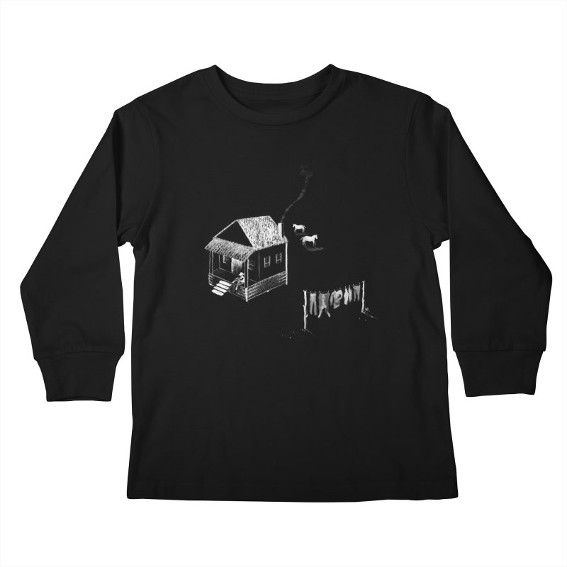 A Moment (White) Kids Longsleeve T-Shirt by Laura OConnor's Artist Shop