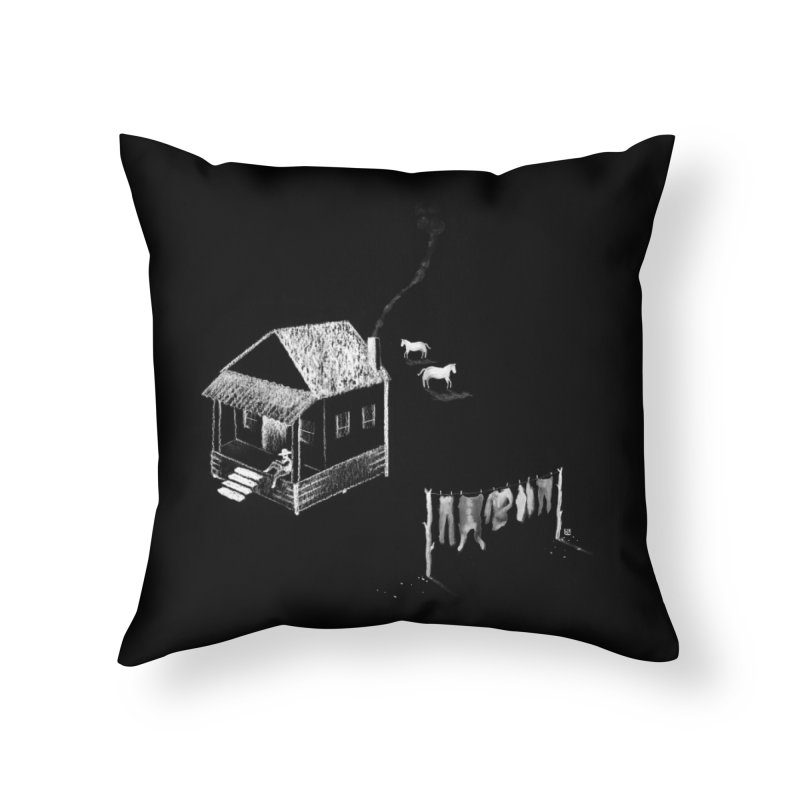 A Moment (White) Home Throw Pillow by Laura OConnor's Artist Shop