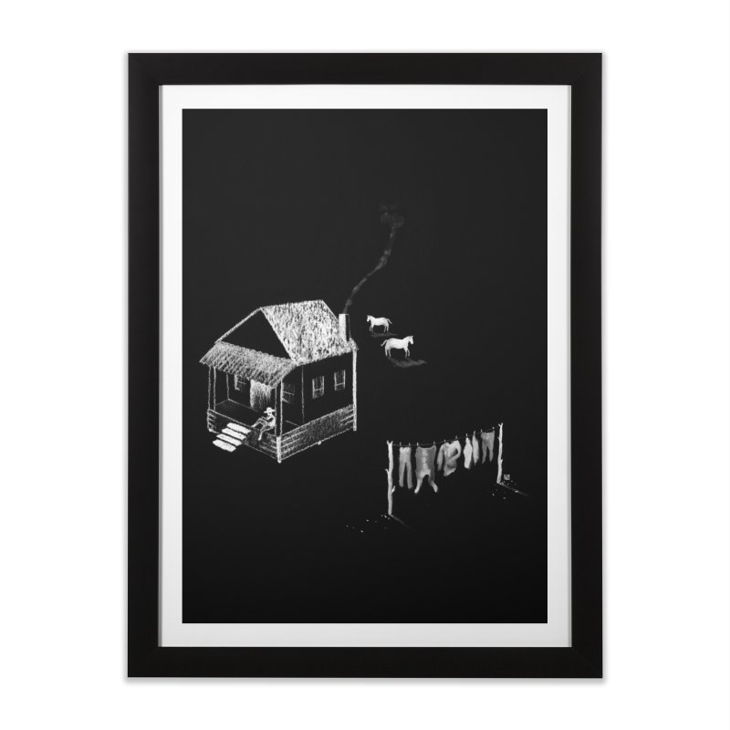 A Moment (White) Home Framed Fine Art Print by Laura OConnor's Artist Shop