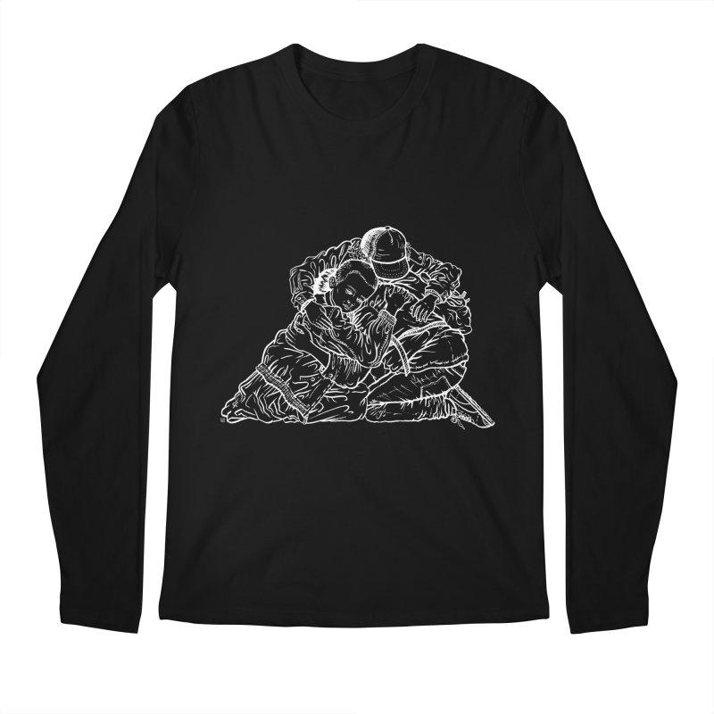 Stranger Things (White) Men's Longsleeve T-Shirt by Laura OConnor's Artist Shop