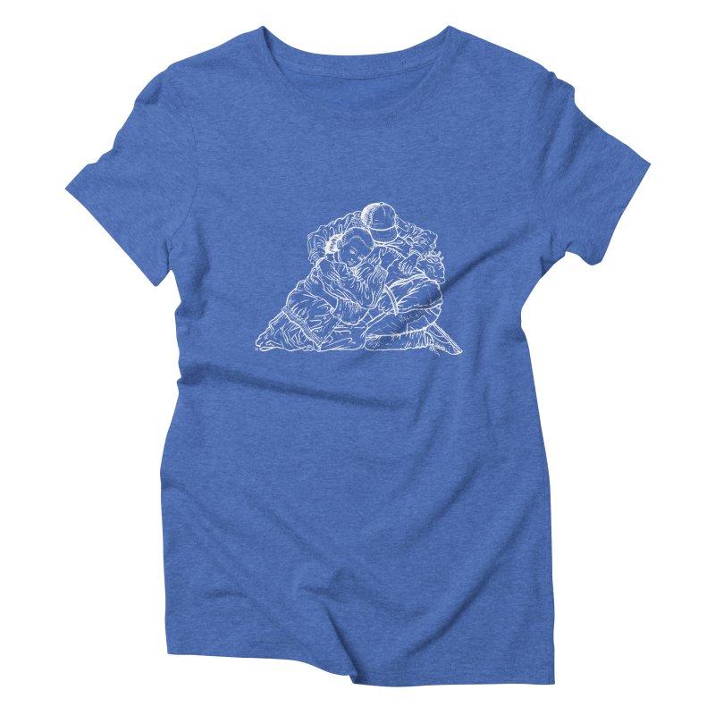 Stranger Things (White) Women's Triblend T-shirt by Laura OConnor's Artist Shop