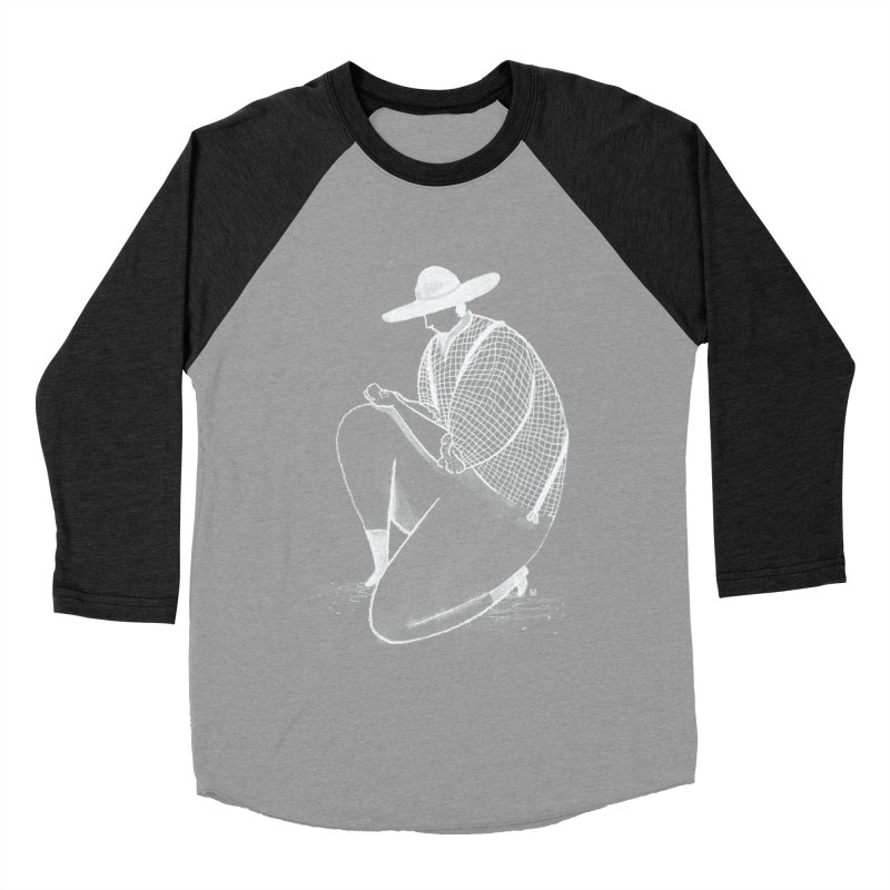 Discovery (White) Women's Baseball Triblend T-Shirt by Laura OConnor's Artist Shop