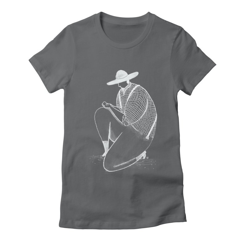 Discovery (White) Women's Fitted T-Shirt by Laura OConnor's Artist Shop