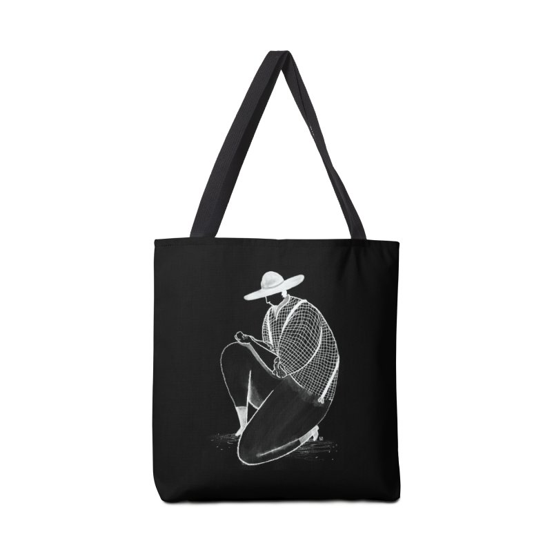 Discovery (White) Accessories Bag by Laura OConnor's Artist Shop