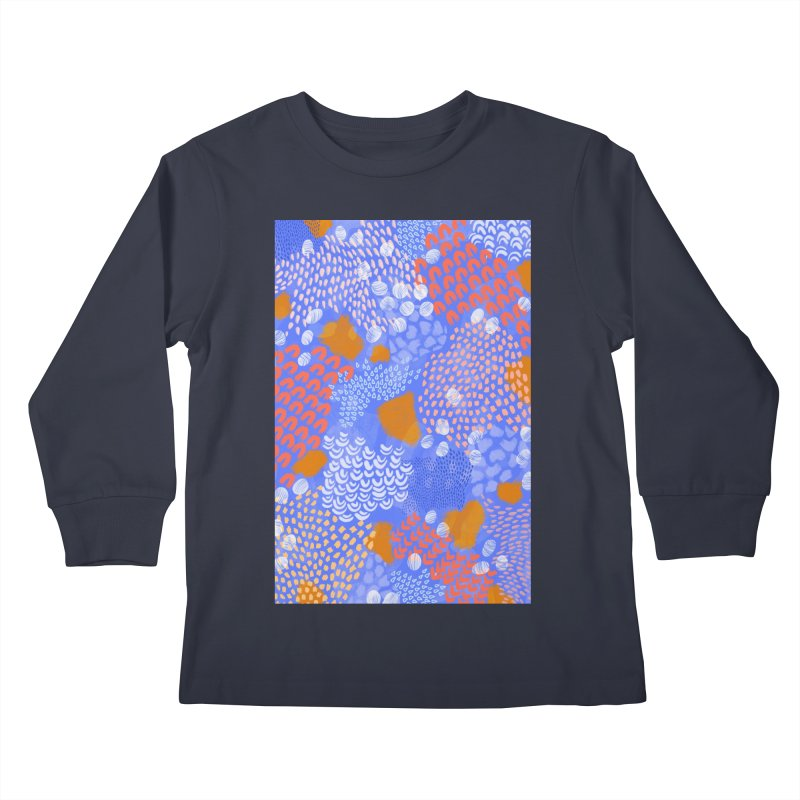 Midnight Garden Kids Longsleeve T-Shirt by Laura OConnor