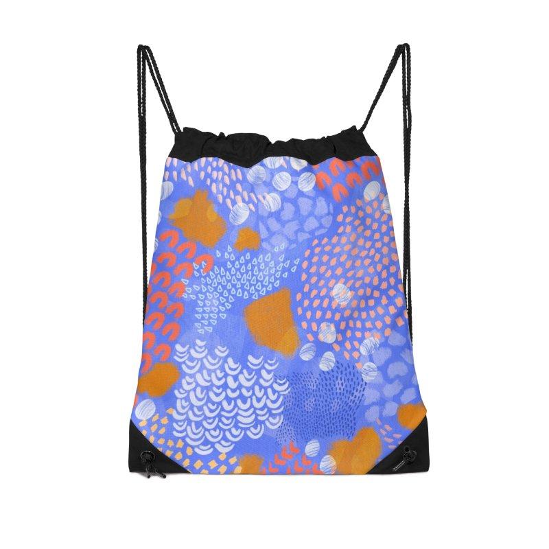 Midnight Garden Accessories Bag by Laura OConnor