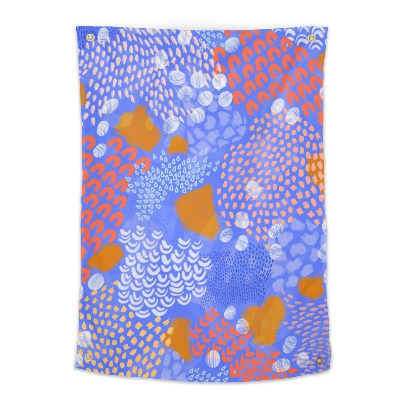 Midnight Garden Home Tapestry by Laura OConnor