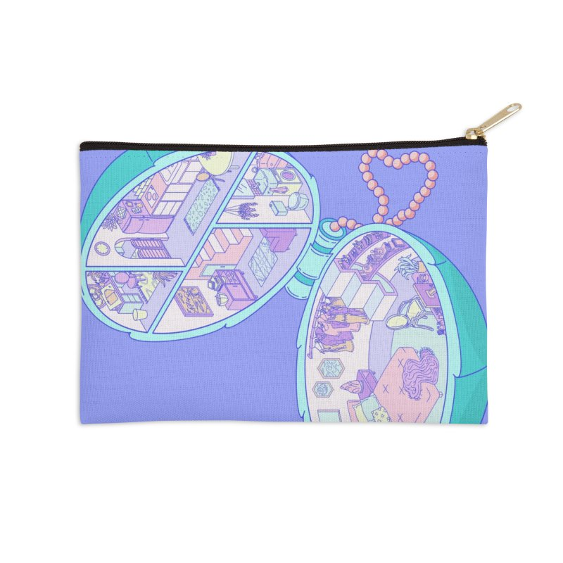 Tiny Haus Accessories Zip Pouch by Laura OConnor