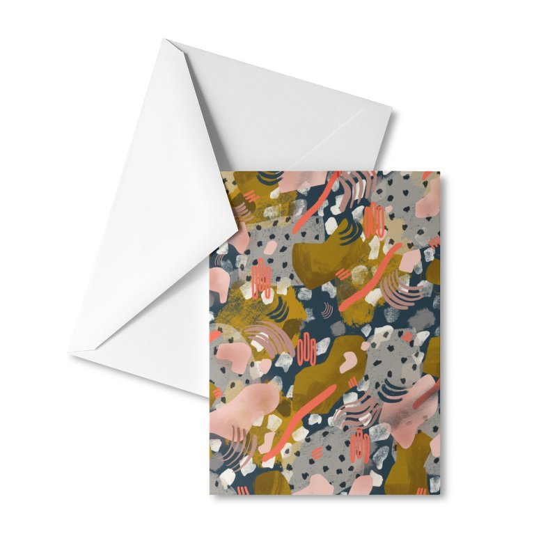 The Bazaar Accessories Greeting Card by Laura OConnor