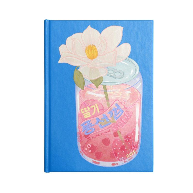 Strawberry Bubblegum Accessories Notebook by Laura OConnor