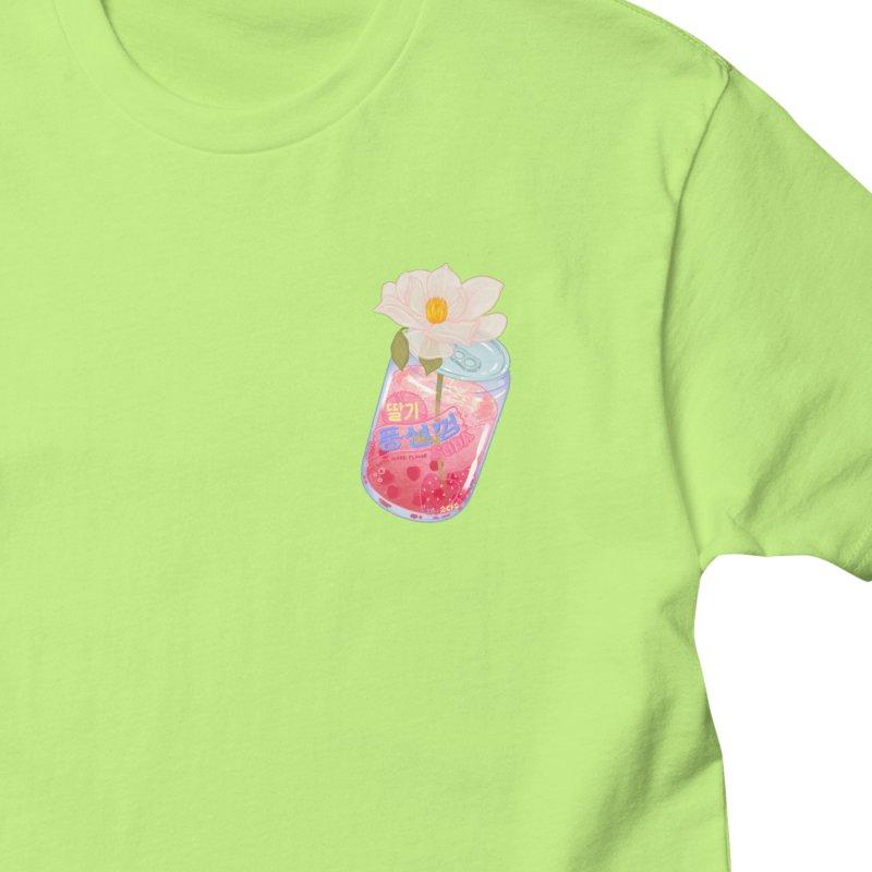 Strawberry Bubblegum Women's T-Shirt by Laura OConnor