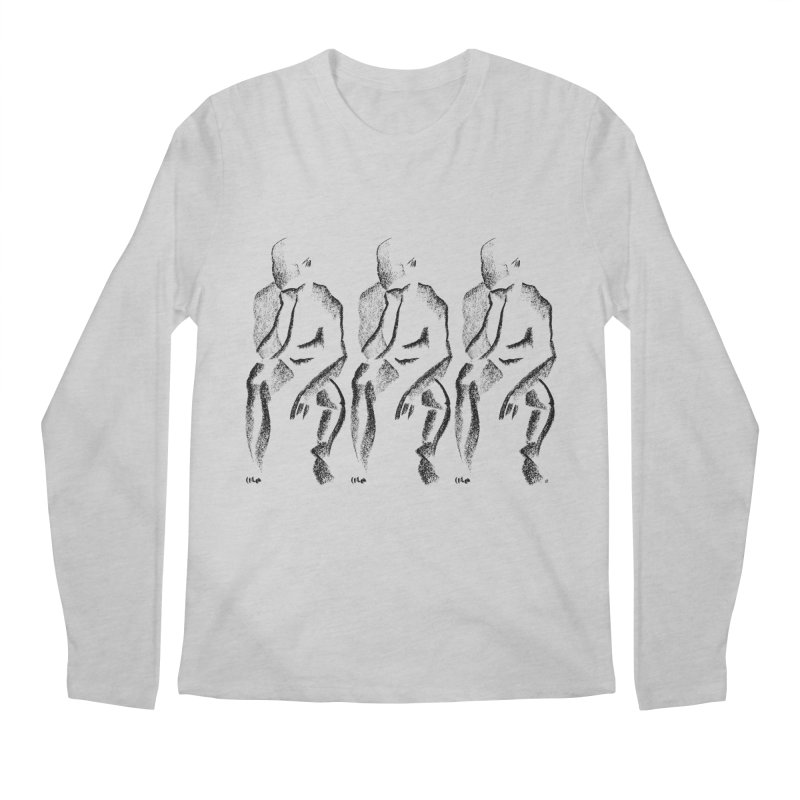Waiting Men's Longsleeve T-Shirt by Laura OConnor's Artist Shop